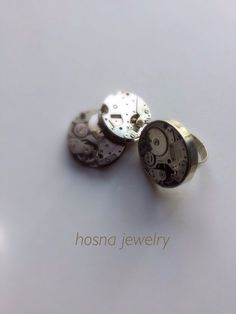 Ring, Watch series, Silver, hosna jawelry.