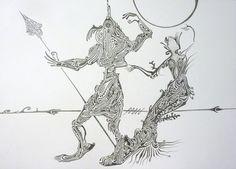 "Saatchi Art Artist Elena Mauri; Drawing, ""prince charming"" #art"