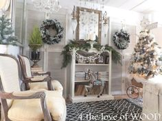 4 the love of wood: 2017 CHRISTMAS DECORATING