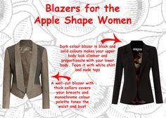 BlazersAppleShapeWomen.jpg 600×428 pixels