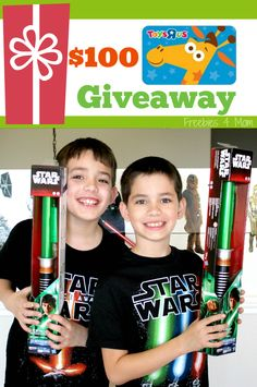 "Enter to win a $100 Toys""R""Us Gift Card Giveaway ENTER http://freebies4mom.com/batteries ad Remember the batteries! #TRUBatteriesIncluded (ends 11/30/15)"