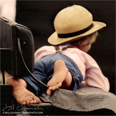 Amish kid