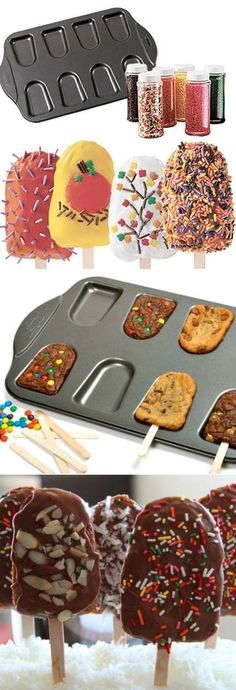 Cakesicle Pan Non-Stick Set ♥ #cooking #kitchen #gadgets I WANT ONE!!!!