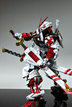 PG 1/60 MBF-PO2 Gundam Astray Red Frame. Modeled by Suny Buny
