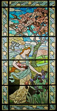 The Spring of Eugene Grasset (Museum of Decorative Arts) by dalbera, via Flickr