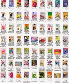 Origami Japão Burajirujin - Livros de Origami para Downoad Baixar em PDF: Tomoko Fuse Coletânea 62 Livros de Origami