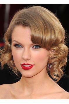 pastel retro hair taylor swift - Google Search