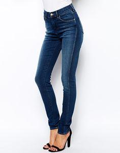 Image 1 ofWrangler Jess High Waist Skinny Jeans