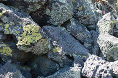 La roca expuesta