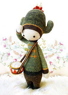"Ravelry: ""CARL"" - lalylala crochet pattern N° IV - cactus pattern by Lydia Tresselt"