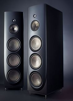 """Magico Q5 Loudspeakers (Only $59,950/pair). Magico, based in Berkeley, CA, designs and builds audiophile speakers. Founded as an attempt at a """"no-holds-barred"""" assault on normal loudspeaker design. Many of their designs use aluminum instead of MDF or wood. Notable Magico products include the gigantic Magico Ultimate IIs, that were designed with the """"sole objective of true-to-life audio reproduction."""""""