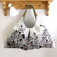 グラニーバッグ/ホワイト - 手づくりバッグキット 型紙と作り方の専門店 / かばん屋さんのキット