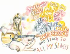 Joni Mitchell's Milk and Honey. Want this. And now I have it!