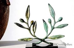 Bronze Olive Wreath by GreekMythos on Etsy, $87.00