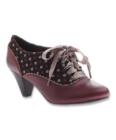 This Grape Eye Spy Leather Pump by Poetic Licence is perfect! #zulilyfinds