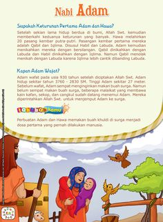 Kids Story Books, Stories For Kids, Baca Online, Prophets In Islam, Islam And Science, Malay Language, Batman Artwork, Learn Islam, Reminder Quotes