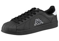 Produkttyp , Sneaker, |Schuhhöhe , Niedrig (low), |Farbe , Schwarz, |Herstellerfarbbezeichnung , BLACK/WHITE, |Obermaterial , Synthetik, |Verschlussart , Schnürung, |Laufsohle , Gummi, | ...