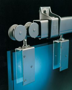 barn door hardware - stacking doors - sliding door rollers and track
