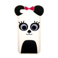 Pink Bow Panda Phone Cover - iPhone 5C Compatible