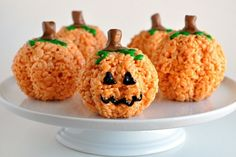 Edible Jack O'Lantern Treats