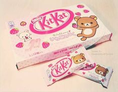 (2250) Rilakkuma KitKat - Next visit to Japan, I'm going to buy a pallet of these! lol. | Japan Snack | Pinterest