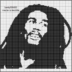 Bob Marley Cross Stitch Patterns | 1000+ images about gotico o moderno on Pinterest | Cross stitch ...
