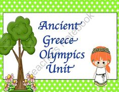 Ancient Greece Olympics Unit from The Bird House on TeachersNotebook.com (24 pages)  - Ancient Greece Class Olympics 1 week unit! This is so fun. Everything you need for your own class olympics. 24 pages of lesson plans and worksheets.