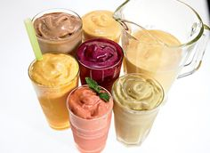 In this collection, you'll find healthy smoothie recipes to satisfy every craving from breakfast to a dessert. Check out these delicious smoothies here. Best Smoothie Recipes for Weight Loss Smoothies Healthy Weightloss, Eating For Weightloss, Weight Loss Smoothies, Healthy Drinks, Healthy Recipes, Healthy Options, Healthy Food, Protein Recipes, Vegan Protein