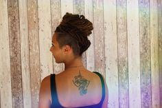 It's funny, nice, and cool to decover and make different hairstyles of #dreads #chignon #inspiration #locstylesforwomen #dreadstyles #dreamlocks #dreadlocks #cheveuxlisses Dreads, Different Hairstyles, Creations, Nice, Hair Styles, Funny, Inspiration, Beauty, Women