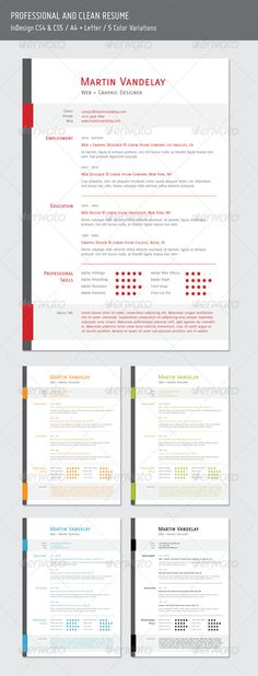 Modern \ Elegant Resume Resume cv and Print templates - print resume