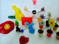Brinquedinhos do saquinho surpresa  #infancia #nostalgia