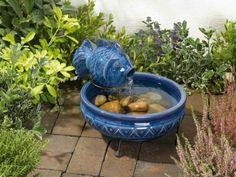 Patio Fountain is Right Solution : Small Fountains For Patio. Small fountains for patio. Small Garden Water Fountains, Water Fountain Design, Patio Fountain, Fountain Ideas, Outdoor Fountains, Fountain House, Water Gardens, Small Water Features, Water Features In The Garden