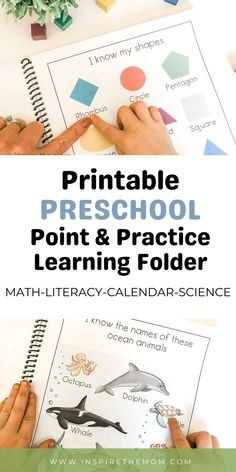 This is a simple and gentle way to introduce concepts like colors and counting with little to no prep on your part! #preschool #point #practice #calendar #literacy #math #science #shapes #letters #counting #print #printable #easy #fun #kids #learn #preschooler #prek #kindergarten #prep #resource #read #make #download #teacher #classroom #homeschool #distance #learning Homeschool Preschool Curriculum, Preschool Schedule, Preschool Writing, Preschool Education, Preschool Printables, Preschool Lessons, Homeschool Worksheets, Preschool Ideas, Early Learning Activities