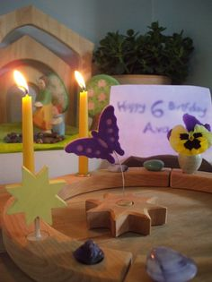 make your own birthday ring decoration