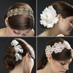 acessorios para cabelo de noiva - Pesquisa Google