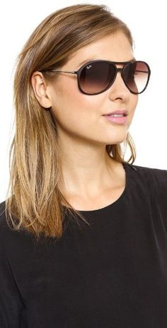 Women\u0026#39;s Aviator Sunglasses-Ray Ban Round Metal Gold, I need these.