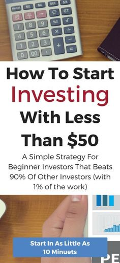 Warren Buffett's strategy to beat 90% of investors with 1% of the work. This beginners guide to investing has all you need to know to get start investing in stocks for as little as $50 a month.