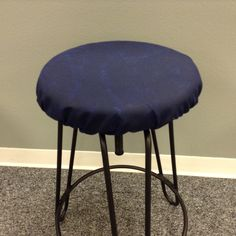 Fitted Saddle Stool Seat Cushion Rectangular Cover
