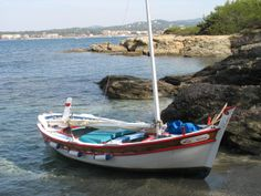 A Pointu is a traditional small fishing boat from Marseille or Cassis.