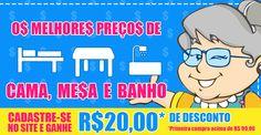 Visite nosso site confira nossas ofertas! www.casadasograenxovais.com.br