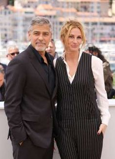 "George Clooney and Julia Roberts attend the ""Money Monster"" photocall during the 69th Cannes Film Fe... - Matt Baron/BEI/Shutterstock/Rex USA"