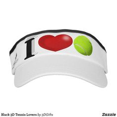Black 3D Tennis Lovers Visor Sports Gifts, Christmas Card Holders, Rowing, Hand Sanitizer, Triathlon, Keep It Cleaner, Classic Style, Tennis, Lovers