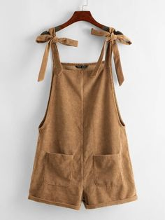 Boho Outfits, Summer Outfits, Cute Outfits, Overall Shorts, Salopette Short, Short Jumpsuit, Aesthetic Clothes, Capsule Wardrobe, Diy Clothes
