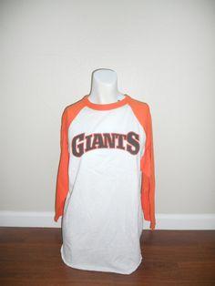 Vtg Vintage SF San Francisco Giants baseball by ATELIERVINTAGESHOP, $50.00