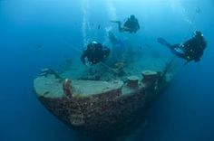 SS Thistlegorm, Red Sea, Egypt - this is the most popular shipwreck dive in the world.