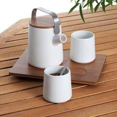 Tea Set For 2 by Lexon Studio