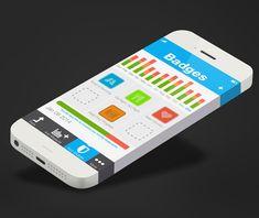 35 Modern Mobile App