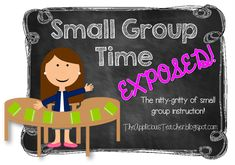 Small Group Time- EX