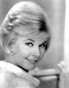 Doris Day-- I just watched Pillow Talk the other night, one of my favorites!