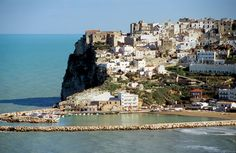 Foggia, Italy -- tiny town on eastern Italian coast where Papa Carbone's mom was from!